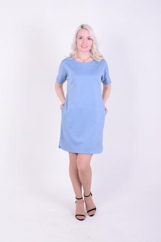 Платье жен П116-348М + брошь