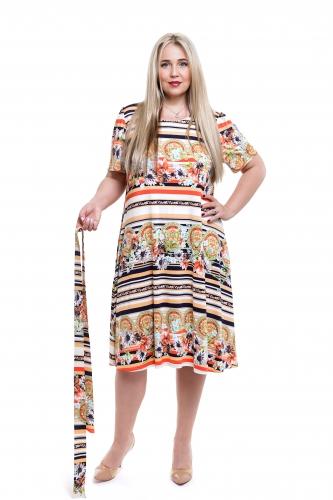 Платье жен П123-407М